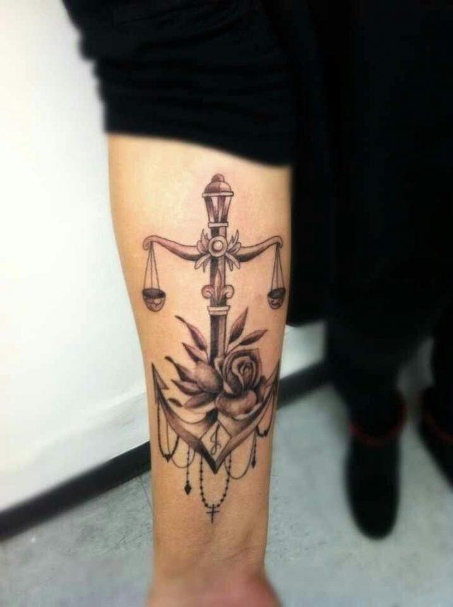 libra scale tattoo libra tattoo