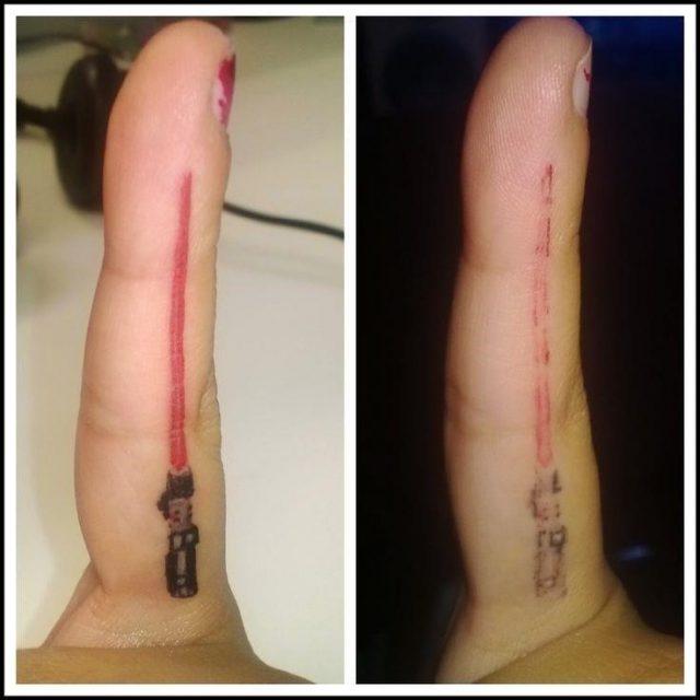 bad tattoos finger tattoos