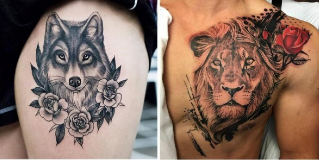 10 Tattoo Ideas For People Who Are Crazy About Animals