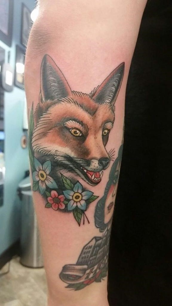 10 fox tattoos tattoos 576×1024