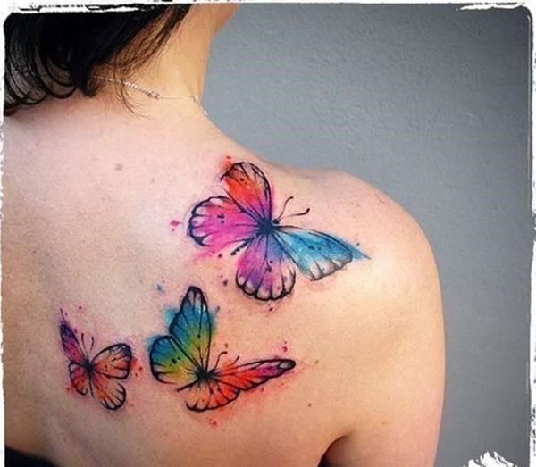 100 Schonsten Butterfly Tattoo Modell 38