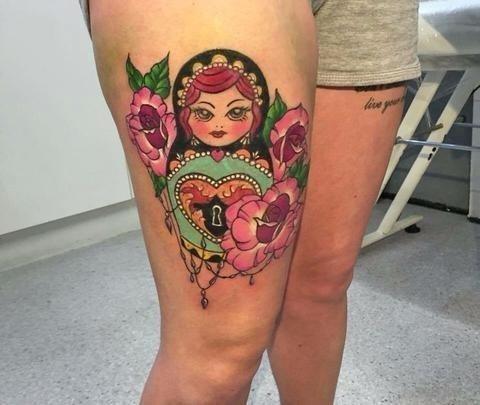 112bb361c4944554878bacb29eca942c  russian doll tattoo dolls large