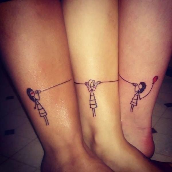 12 sister tattoo designs