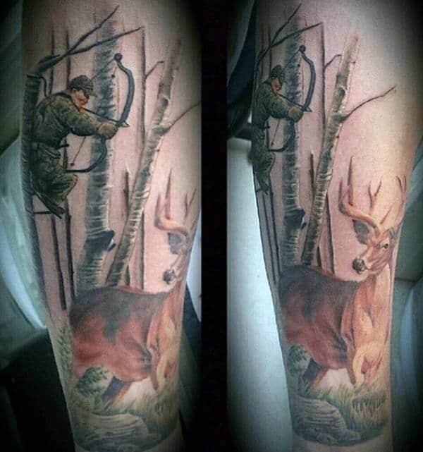 12310816 hunting tattoos