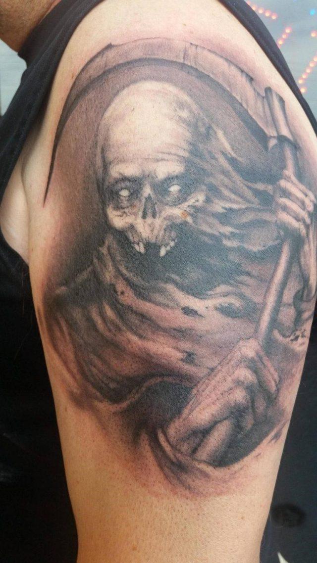 grim reaper tattoo 133