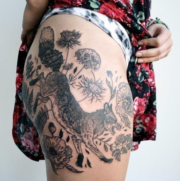 14 fox tattoos tattoos