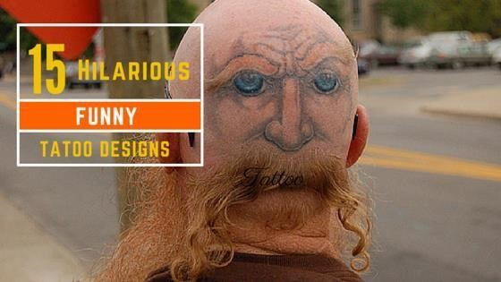 15 Hillarious Funny Tattoo Designs
