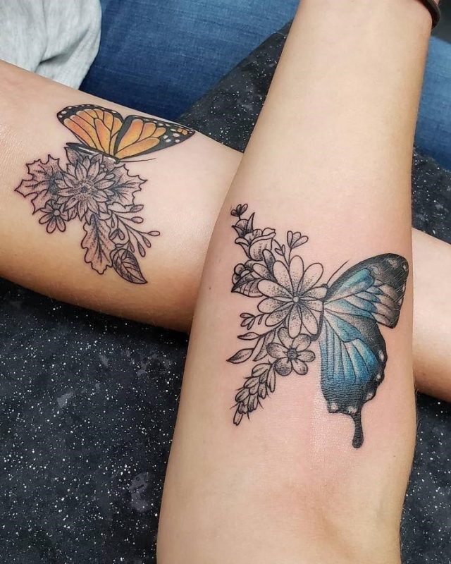 1550338278 684 Friend Tattoos 102 Creative Tattoos Youll Want to Get With Your Best Friend