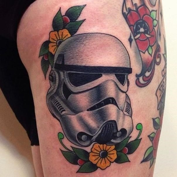 16 stormtrooper star wars tattoo