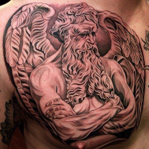 17 Giant Greek Mythology Tattoo