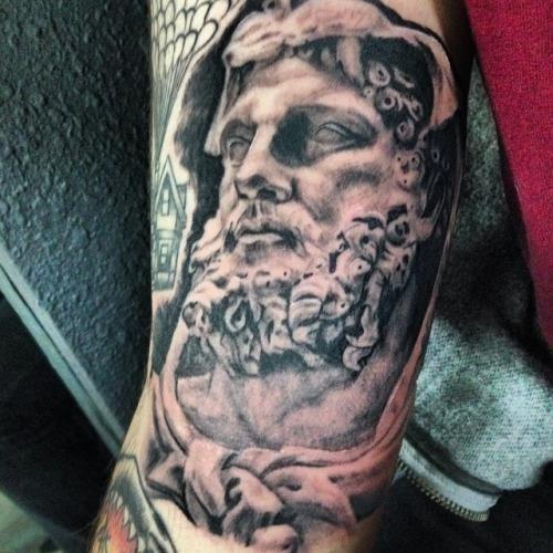 18 Hercules Greek Mythology Tattoo