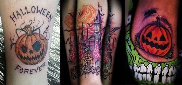 18 Scary Creative Halloween Inspired Temporary Tattoo Designs Ideas 2015 F