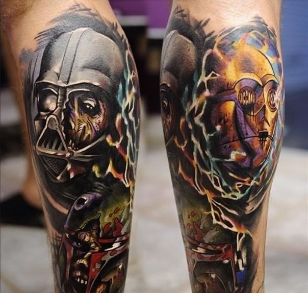 18 star wars c 3po tattoo 7