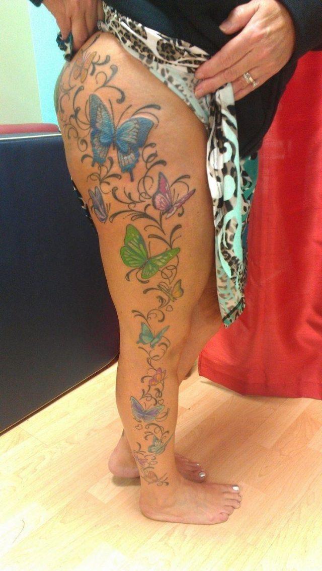 189eff71c7aed744ce4ef8541e80c949  full leg tattoos ryan oneal
