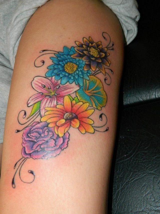 19 birth flower tattoos