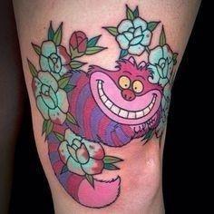1951dac72deb85399e222fe0c3abe5c6  cheshire cat tattoo wonderland tattoo