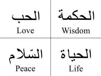 198726 342×257 Arabic Words