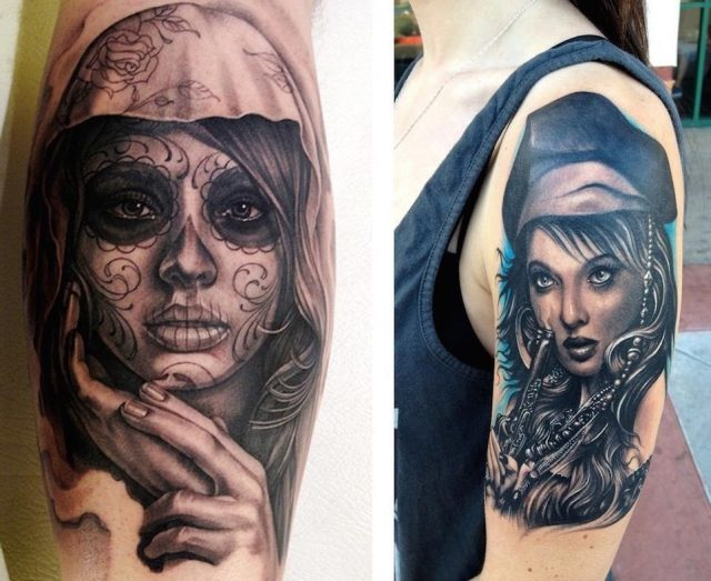 20 Amazing Portrait Tattoo Designs