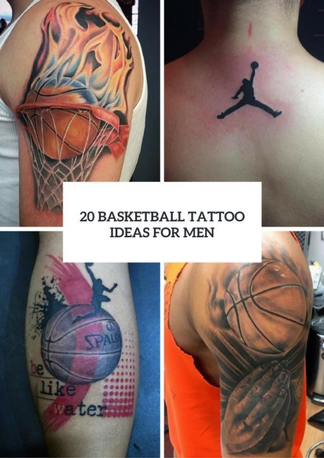 20 Men Basketball Tattoo Ideas To Repeat 775×1096