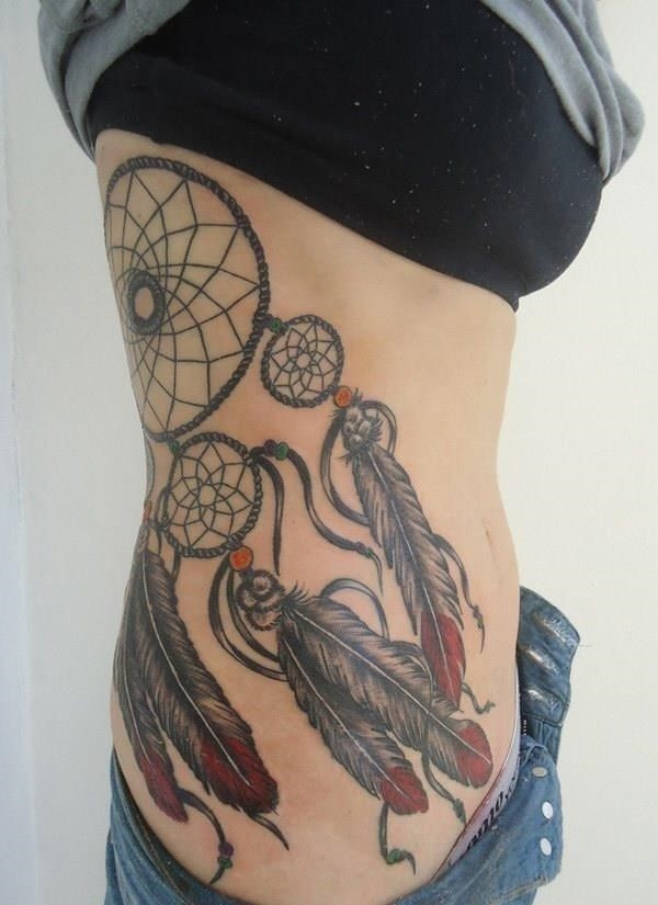 21 dreamcatcher tattoo designs
