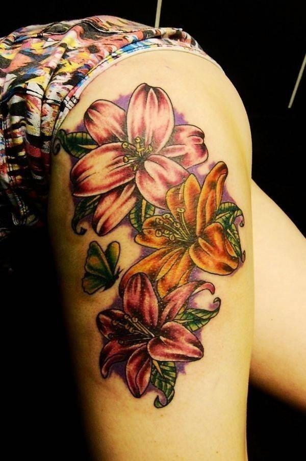 2110416 lily tattoo designs