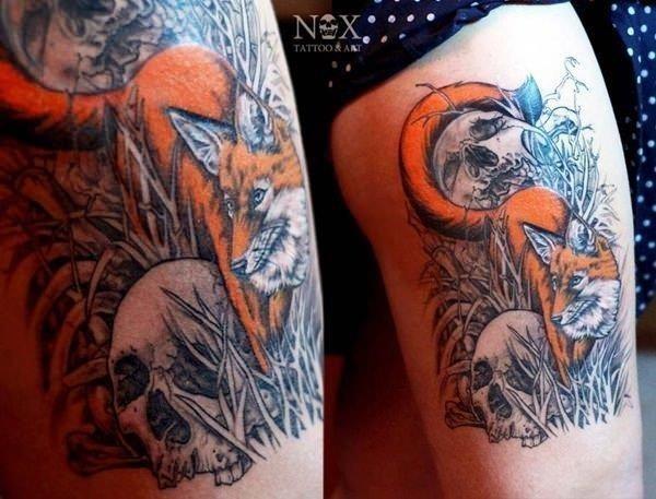 26 fox tattoos tattoos