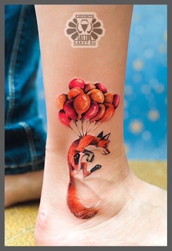 28 fox tattoos tattoos