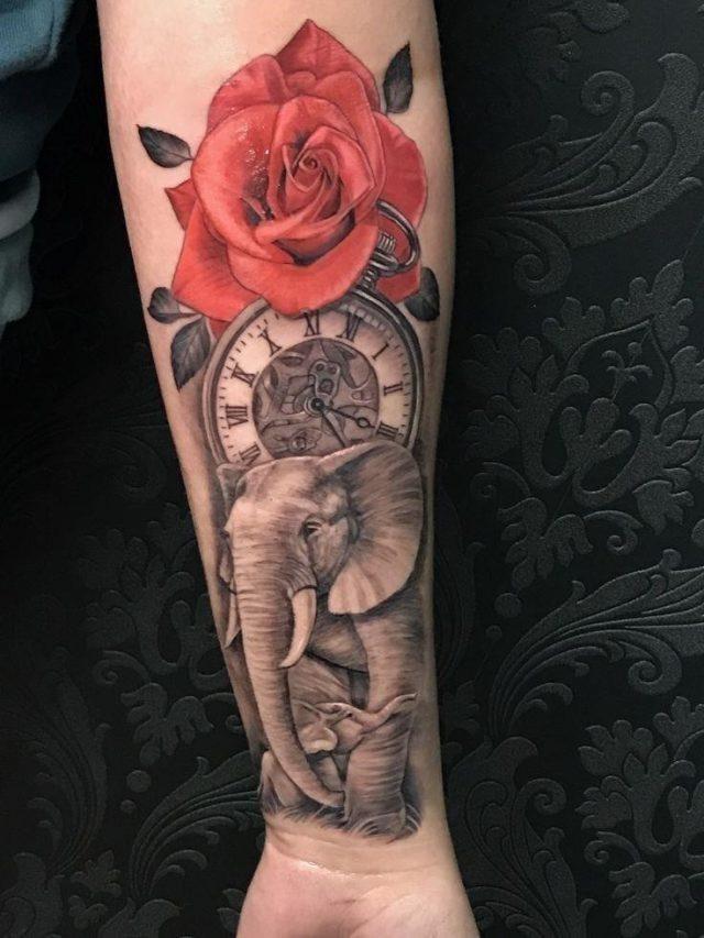 284e00d9bbf0bec271e67009256c611f  elephants tattoo tattoo elephant
