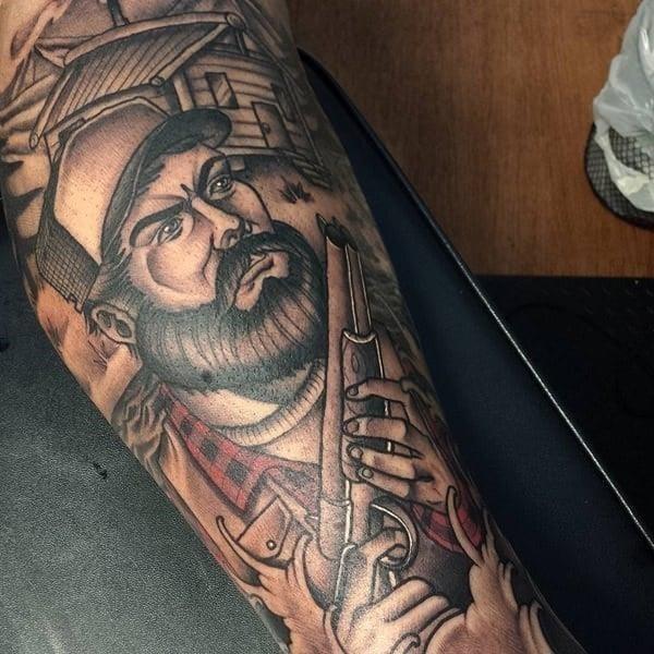 29310816 hunting tattoos