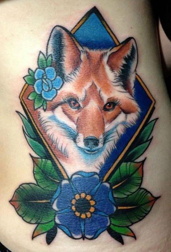 3 fox tattoos tattoos
