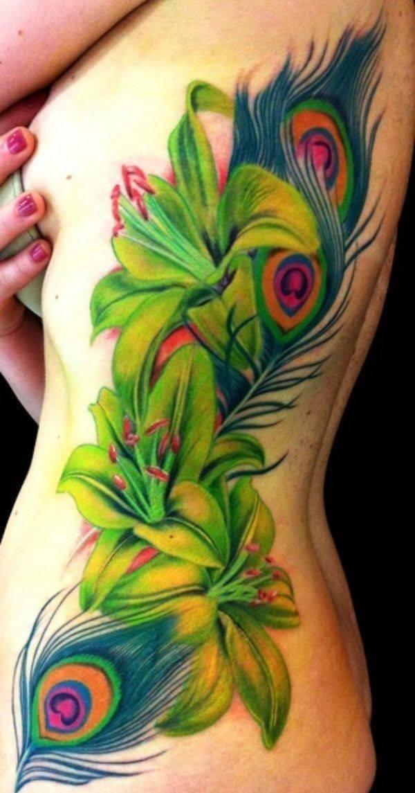 33110416 lily tattoo designs
