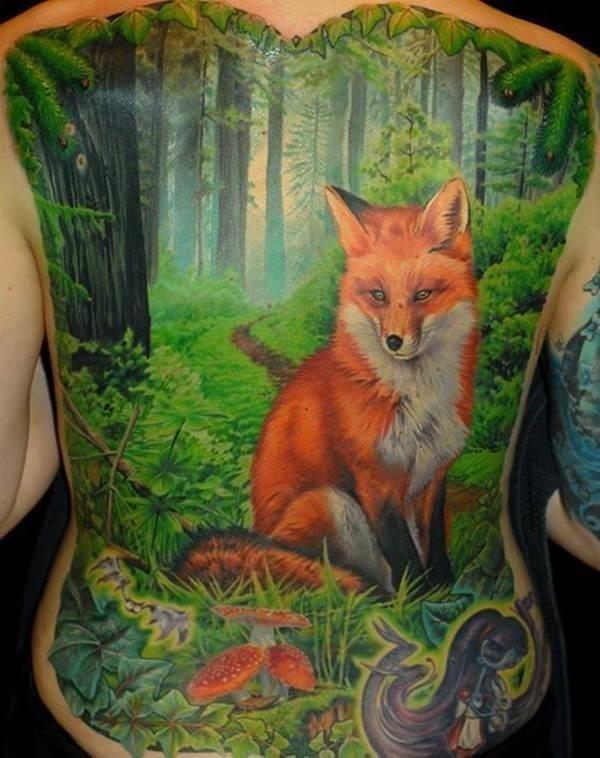 34 fox tattoos tattoos