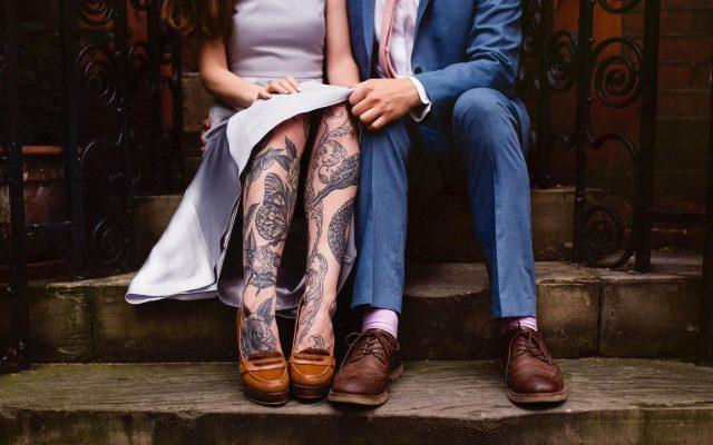 353501 couple tattoos
