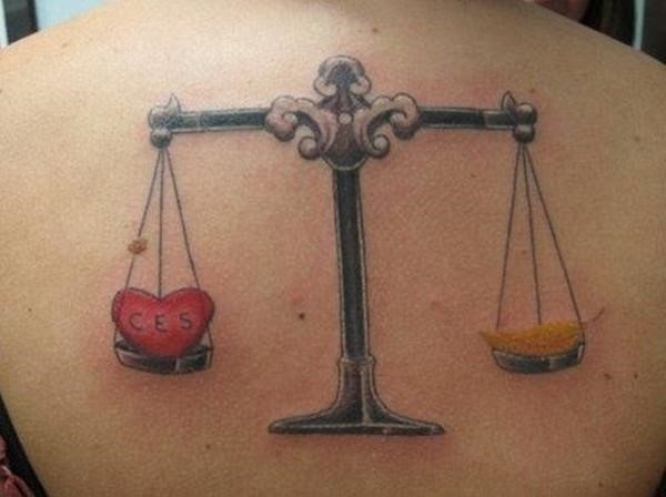 4 libra tattoos