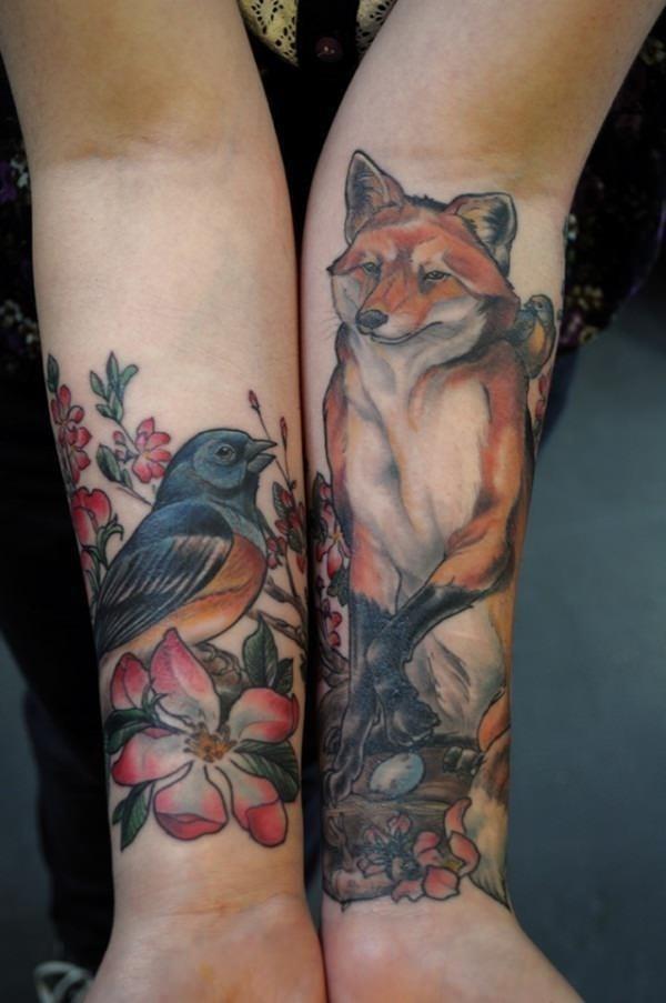 40 fox tattoos tattoos