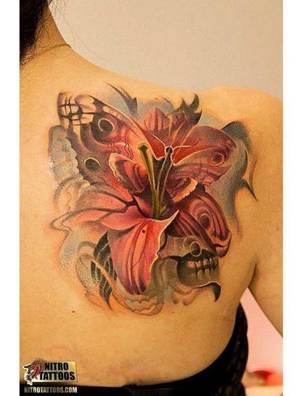 45110416 lily tattoo designs