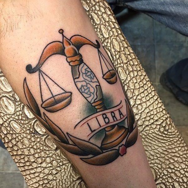 49 libra tattoos
