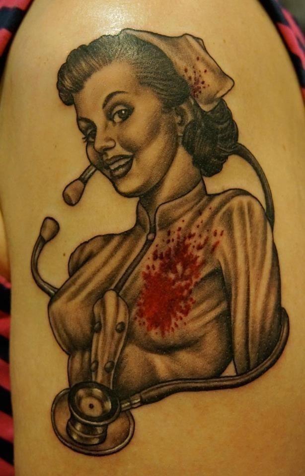 4b074d1aa26aa08268166e605a700848  damask tattoo nurse tattoos