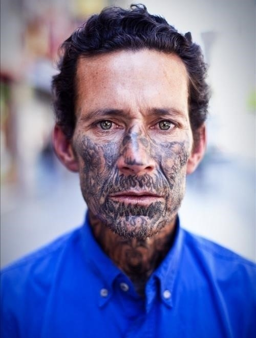 50 craziest face tattoos ever  large msg 134602201174