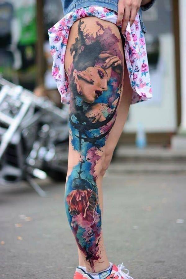 53160916 watercolor tattoos