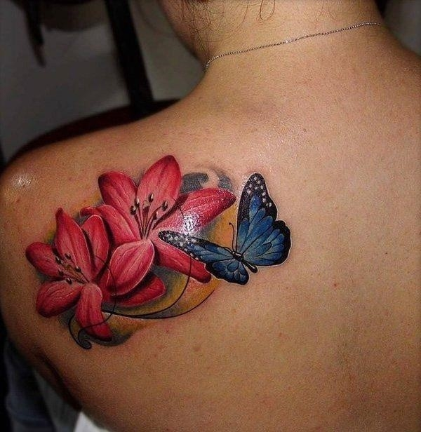 55110416 lily tattoo designs