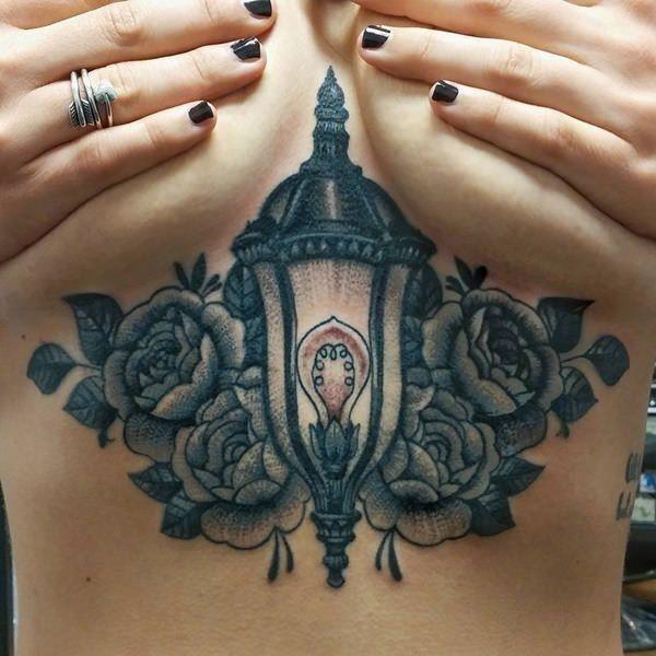 55280816 sternum tattoos