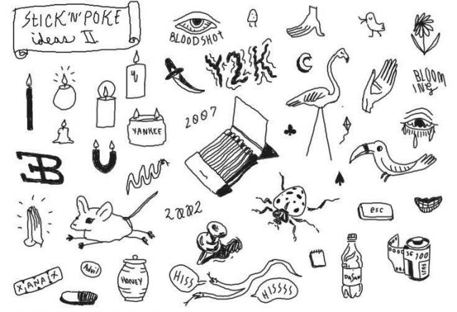 586c6e91a9b2322a056faf09fb50f3c7  stick and poke flash stick and poke ideas