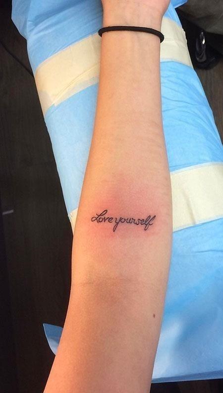 6 Love Yourself Tattoo 521