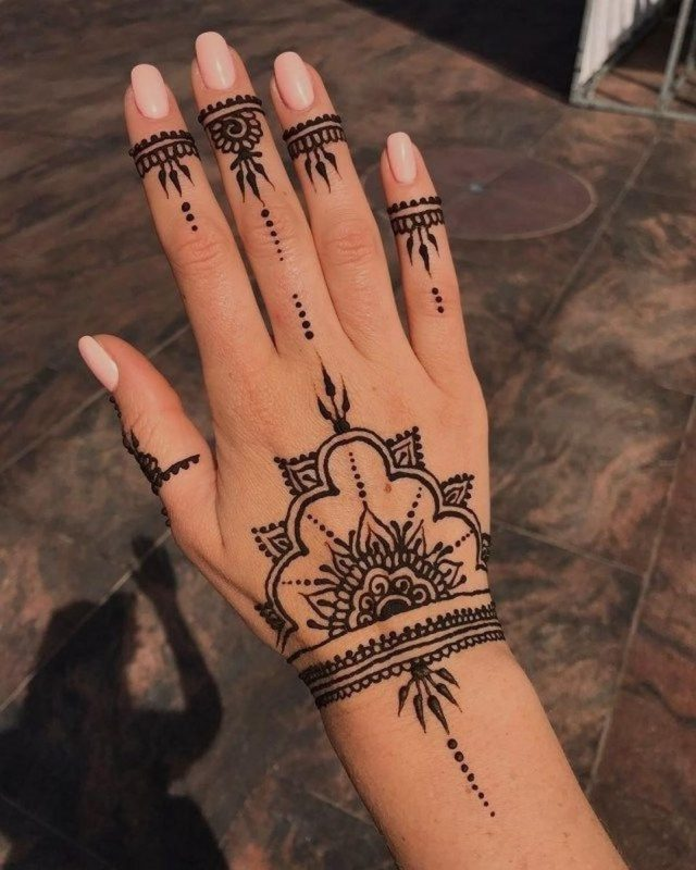 65 of the most popular cool Henna tattoos designs this year 65