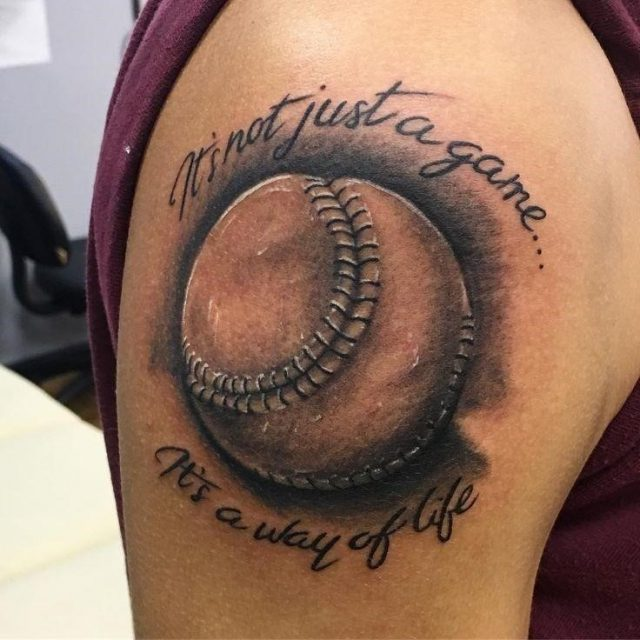 682b289e83d7bc49188786c2eadeaa5a  baseball tattoo ideas softball tattoos