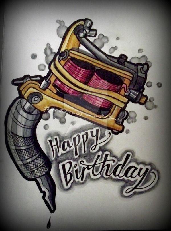 72576a1069456f4e086ad7fbc840ea63  happy birthday tattoo birthday wishes