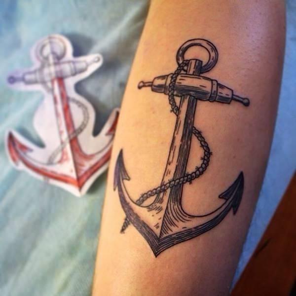 75090916 anchor tattoos