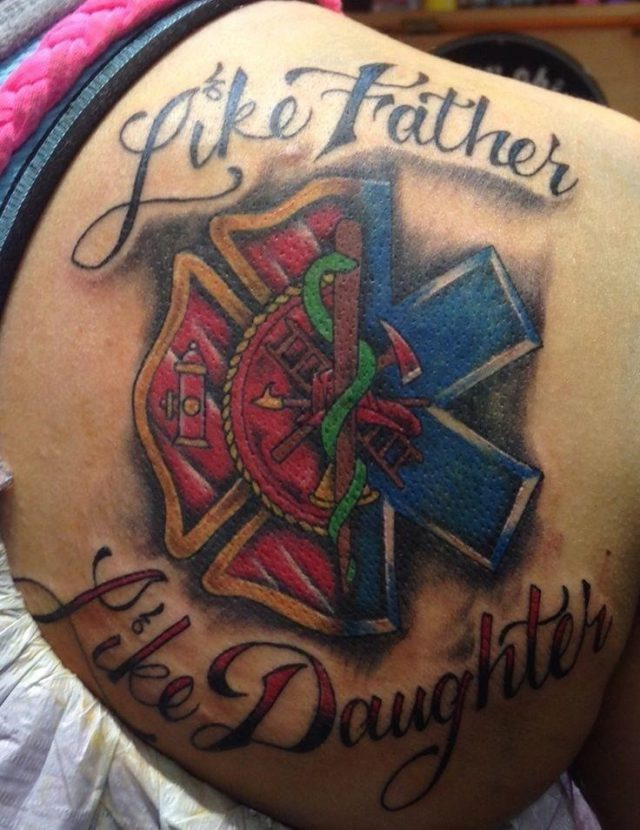 7a8d885c11000f375c048f39dc02609a  like father like daughter father daughter tattoos