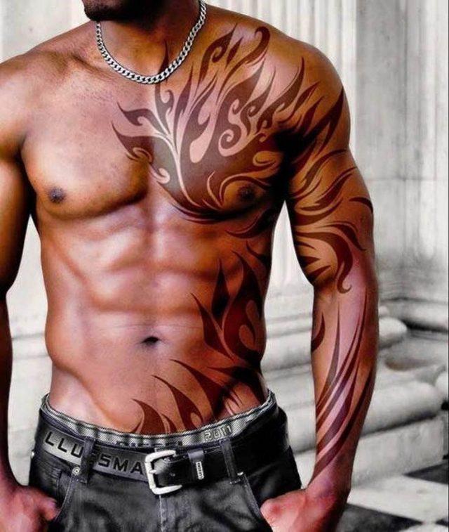 7fecb2c60826b72ab37cf1749697d0dc  shoulder tattoos for men tribal tattoos for men